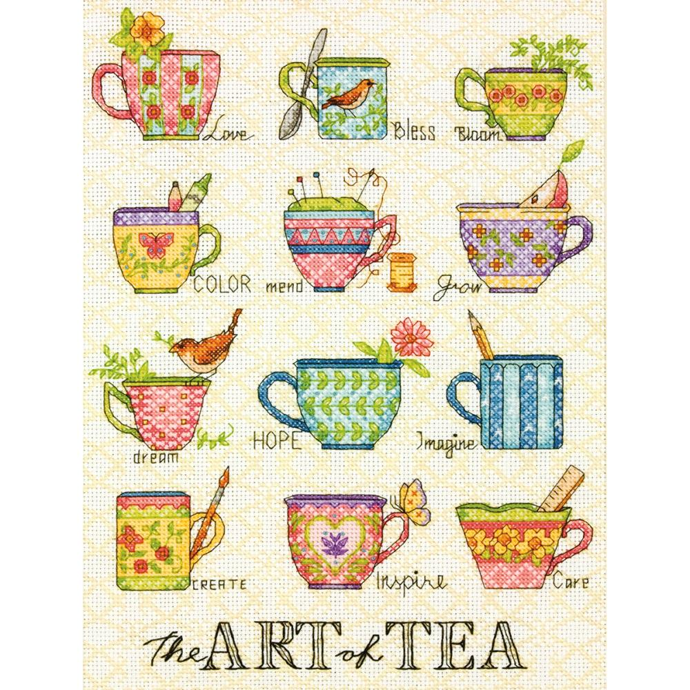 The Art Of Tea Counted Cross Stitch Kit