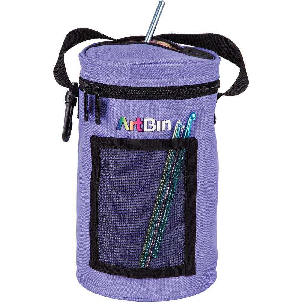 "ArtBin Mini Yarn Drum 5.75""X9.5"" - Periwinkle"