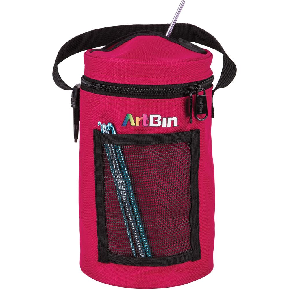 "ArtBin Mini Yarn Drum 5.75""X9.5"" - Raspberry"