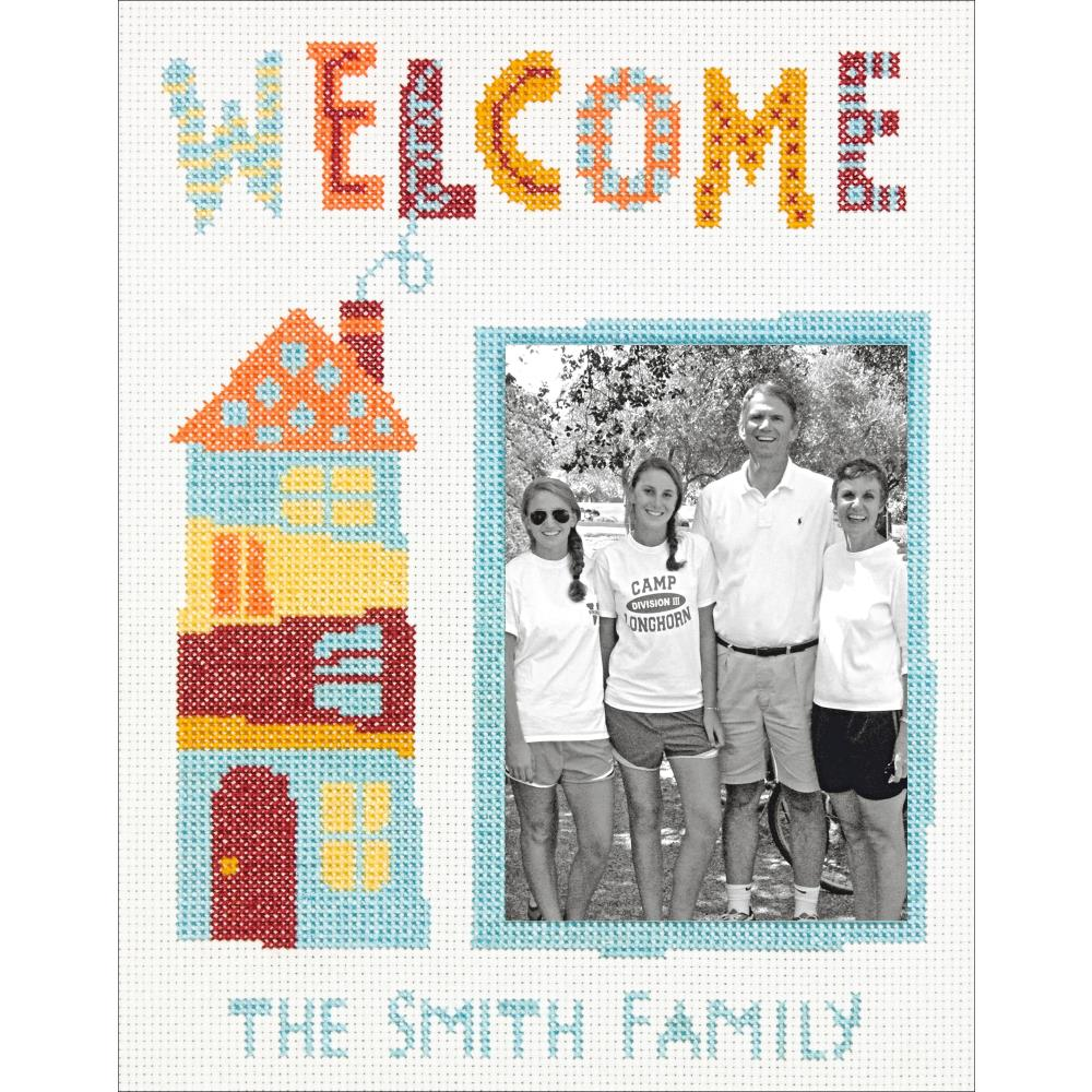 Welcome Home Counted Cross Stitch Kit
