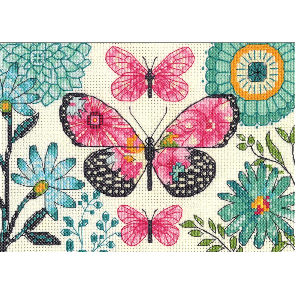 Mini Butterfly Dream Counted Cross Stitch Kit
