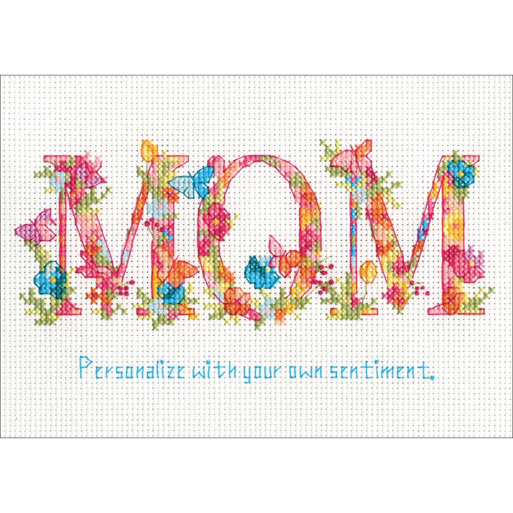 Mom Counted Cross Stitch Kit