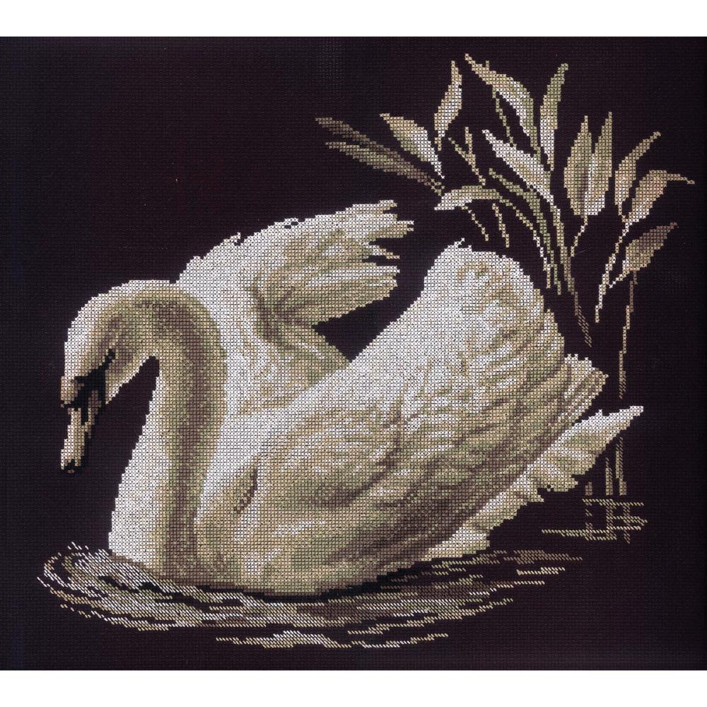 Swan Counted Cross Stitch Kit