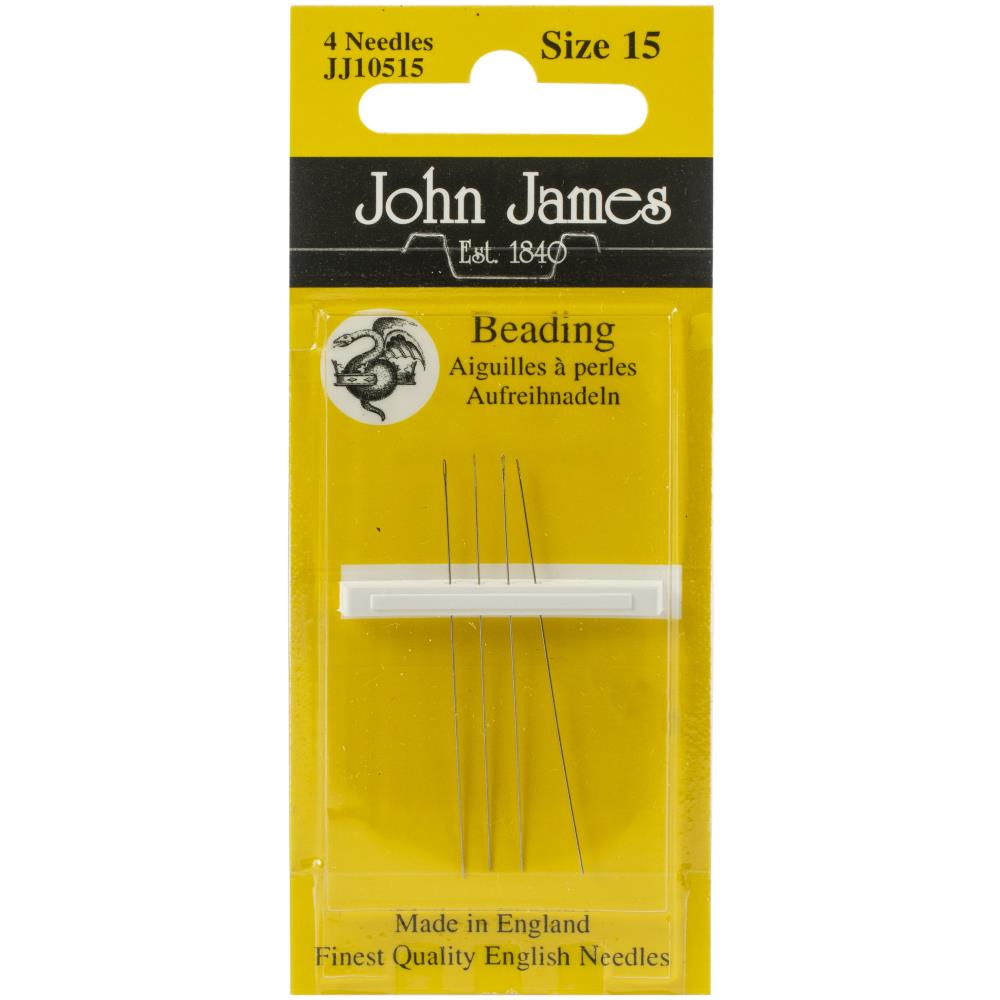 John James Beading Hand Needles Size 15