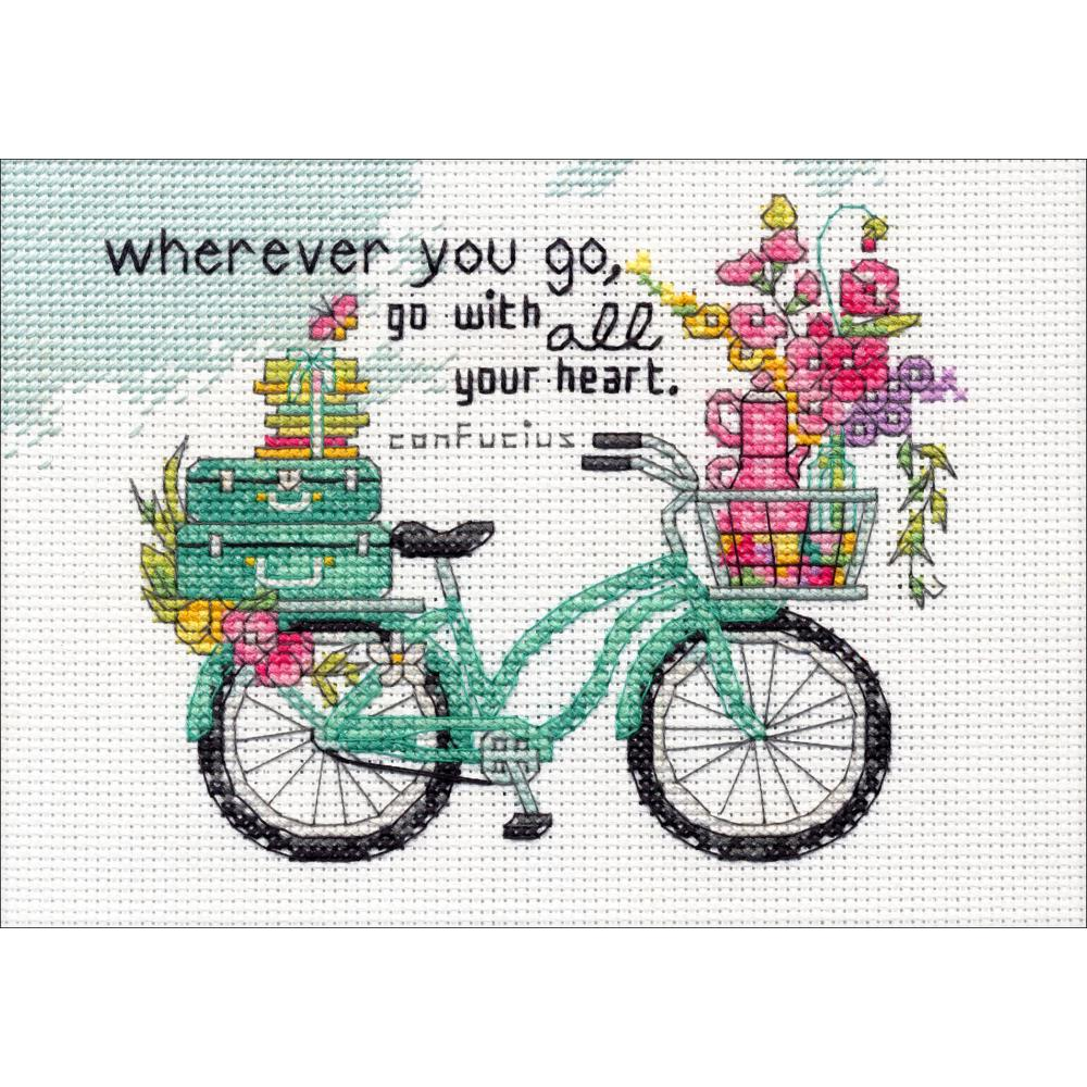 Wherever You Go Counted Cross Stitch Kit