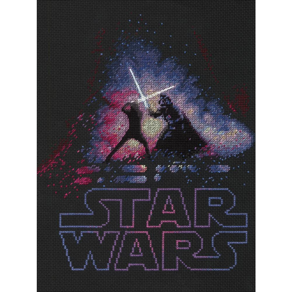 Luke & Darth Vader Star Wars Counted Cross Stitch Kit