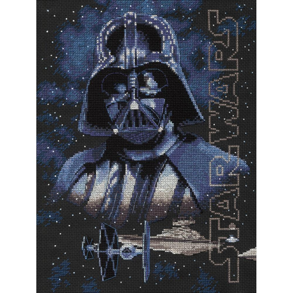 Darth Vader Counted Cross Stitch Kit
