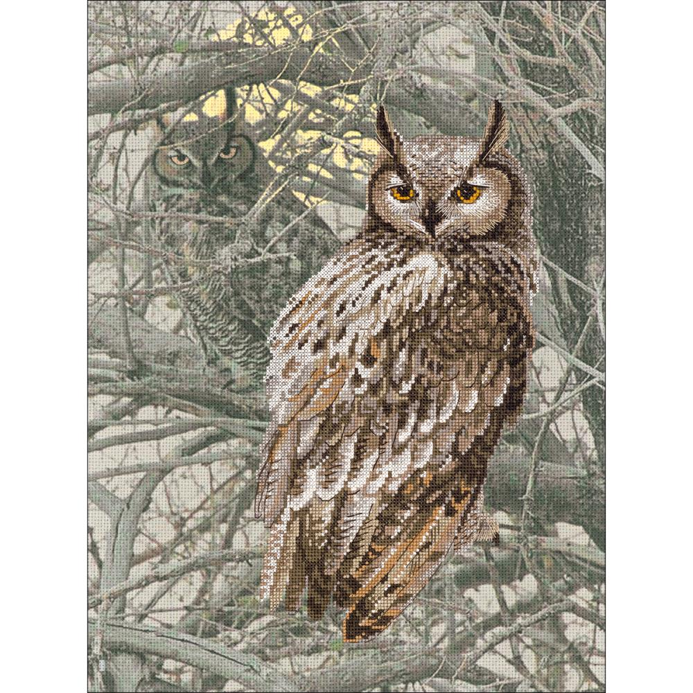 Eagle Owl (14 Count) Stamped