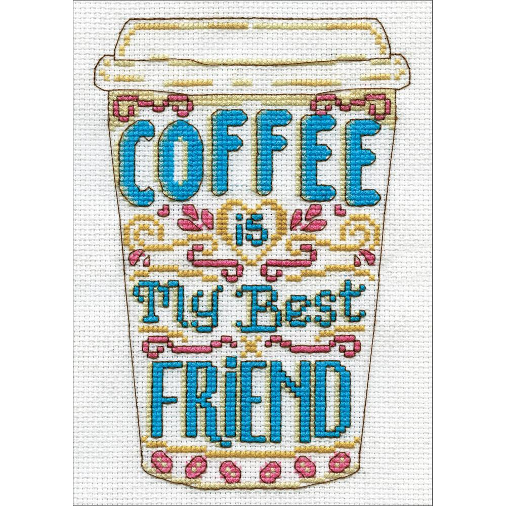 Coffee Counted Cross Stitch Kit