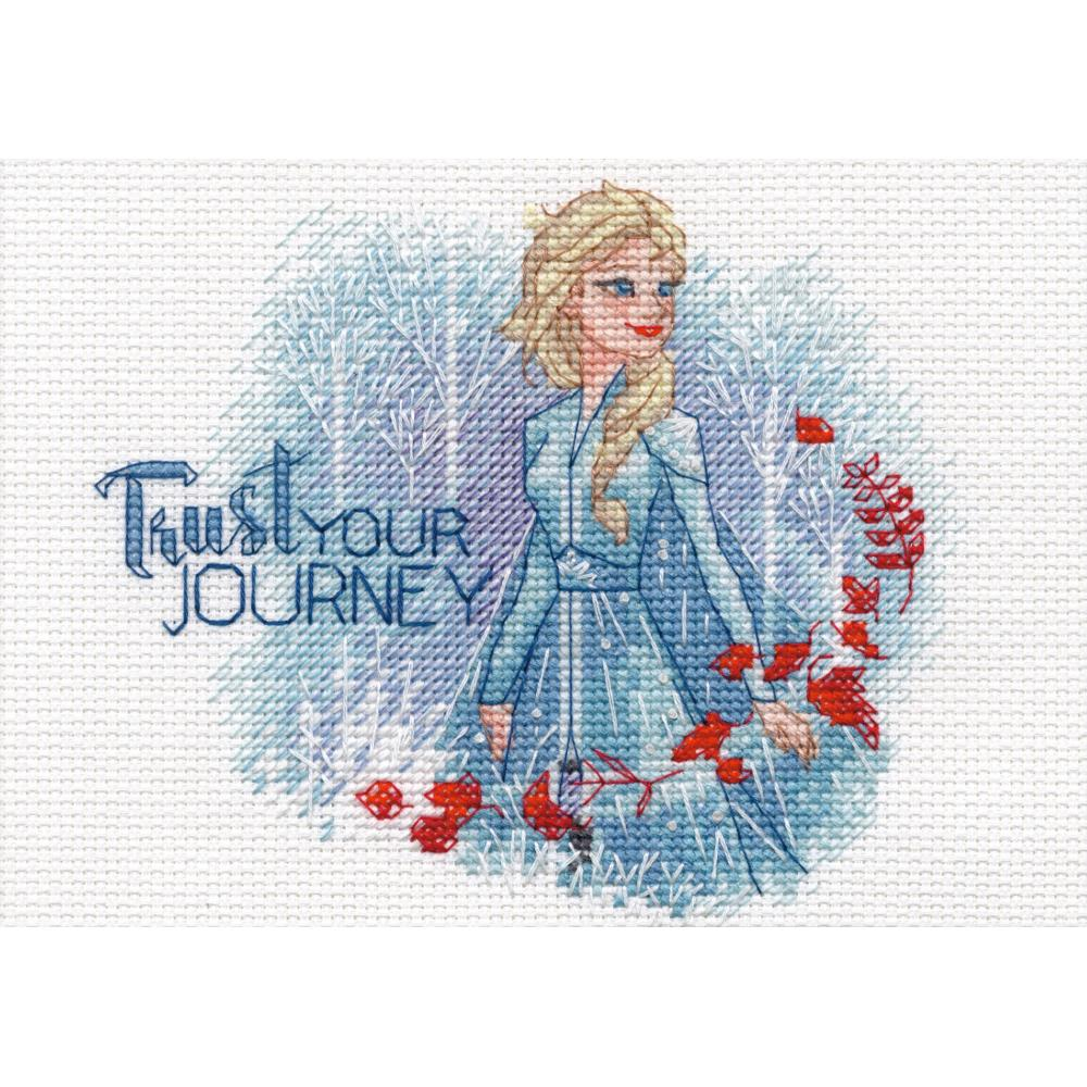 Trust Your Journey Counted Cross Stitch Kit