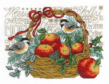 Apple Basket Chickadees