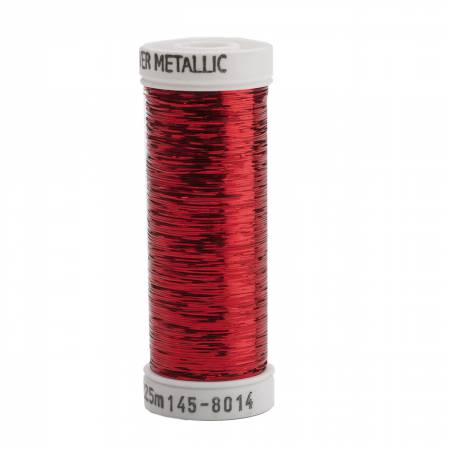 Sulky Sliver - Christmas Red Metallic Thread