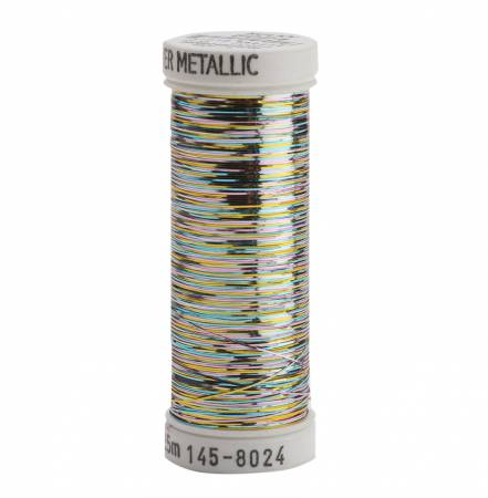 Sulky Sliver - Multicolor Pastel Metallic Thread