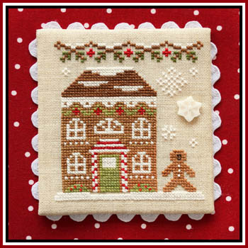 Gingerbread Village 11-Gingerbread House 8