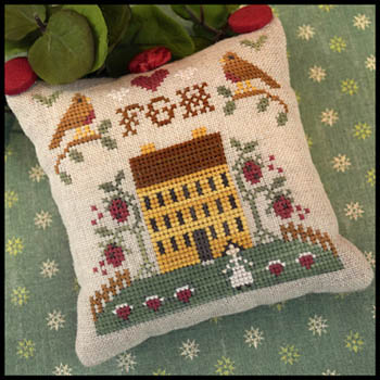 Little House ABC Samplers 3 -Little House FGH