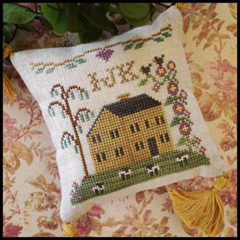 Little House ABC Samplers 4 -Little House IJK