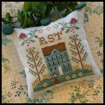 Little House ABC Samplers 7 -Little House RST