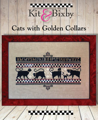 Cats With Golden Collars