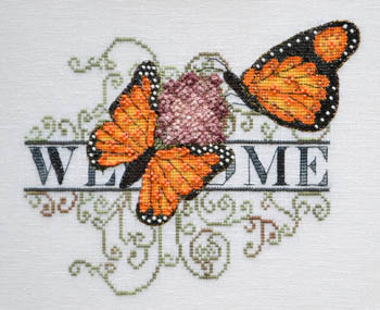 Monarch Butterfly Welcome