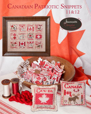 Canadian Patriotic Snippets -11 & 12