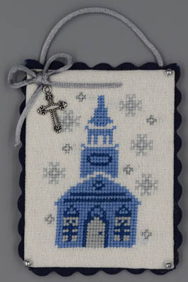 Church (Blue & Silver Christmas)