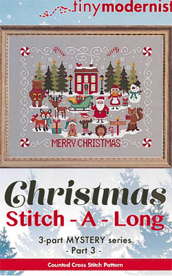 Christmas Stitch A Long - Part 3