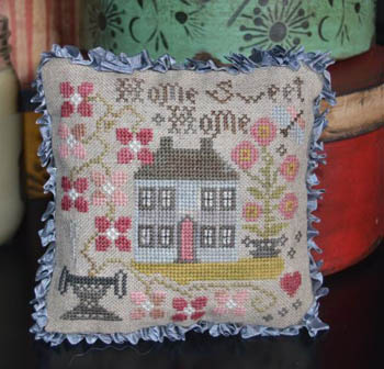 Home Sweet Home Pin Pillow