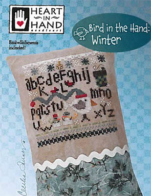 Bird In The Hand - Winter (w/embellishment)
