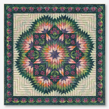 May Baskets 10/% Off Nancys Needle-Counted Canvas chart
