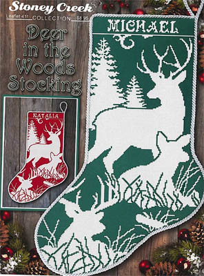 Deer In The Woods Stocking