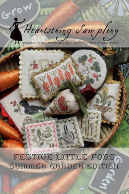 Festive Little Fobs 8 - Summer Garden Edition