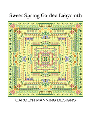 Sweet Spring Garden Labyrinth