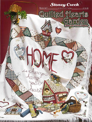 Quilted Hearts Garden Collectors Series Afghan