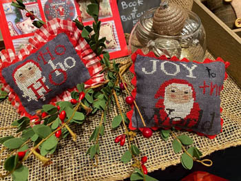 Santa Claus Folk Pillows