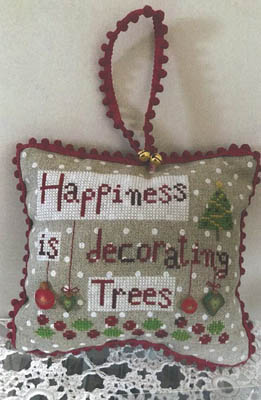 Happiness Decorating Trees