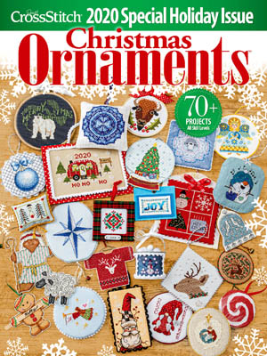 2020 Just Cross Stitch Christmas Ornaments Issue