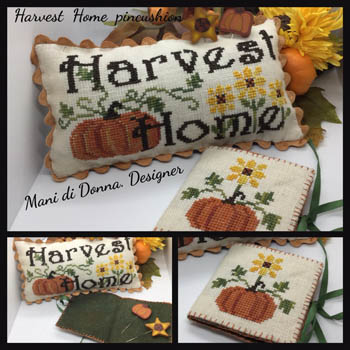 Harvest Home Pincushion