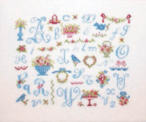 Chintz Alphabet