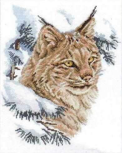 Lynx Counted Cross Stitch Kit