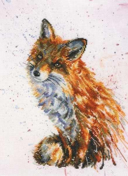 Foxy Counted Cross Stitch Kit