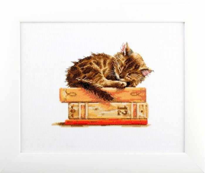 Cat's Dream Counted Cross Stitch Kit