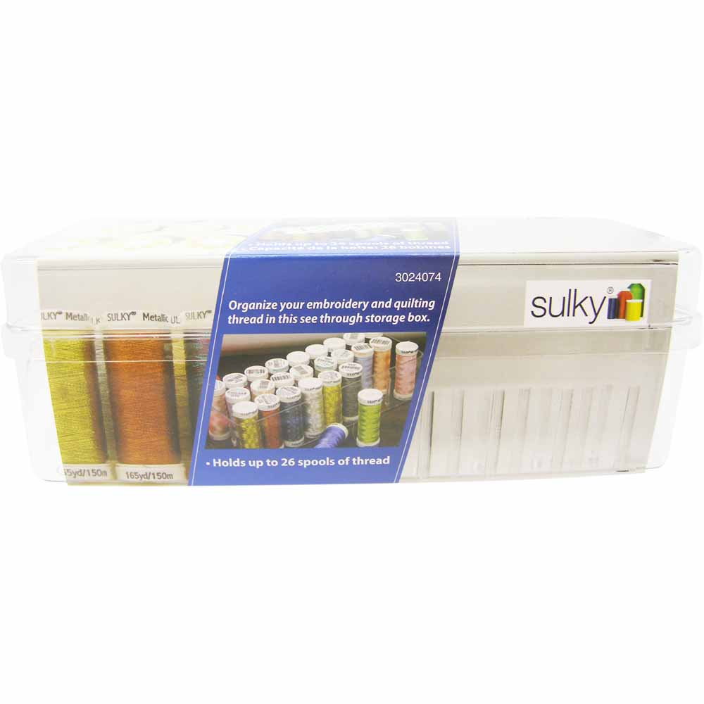 SULKY Thread Storage Box - Holds 26 Spools
