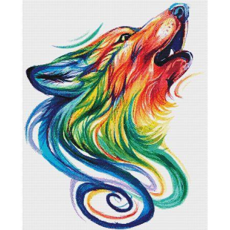 Rainbow Wolf - Click Image to Close