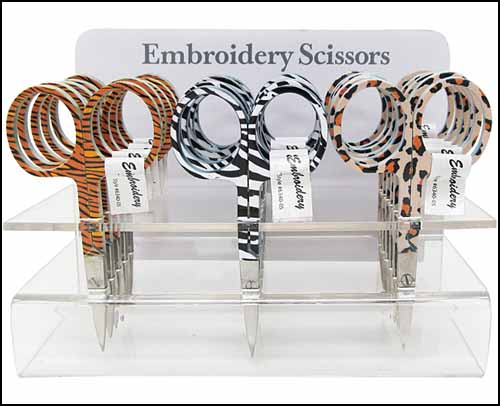 Embroidery Scissors - Zebra Stripes