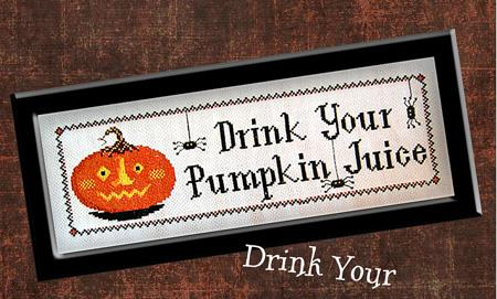 Drink Your Pumpkin Juice