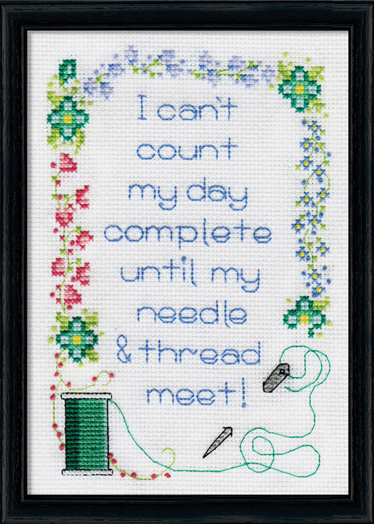 Needle & Thread Counted Cross Stitch Kit