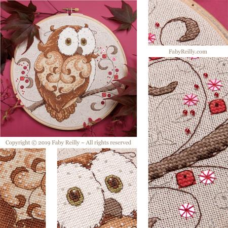 Owl Hoop - Click Image to Close