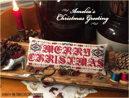 Amelia's Christmas Greeting