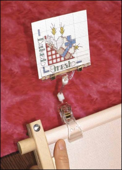 Chart/Graph Gripper Pattern Holder