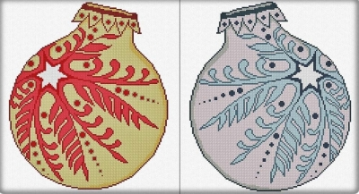 Christmas Ornaments 2019 - 2 Versions